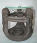 Incensiere di ceramica le 3 donne