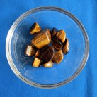 Tigers Eye Tumbled Stones sorted 100 g