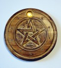Incense Stick Holder with Pentagram