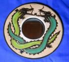 Specchio drago verde