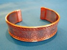 Bracelet Celtic Pentagram of copper