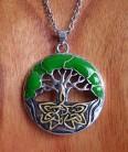 Halskette Lebensbaum