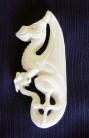 Pendentif Dragon celtique