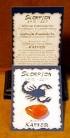 Glücksstein Scorpion