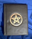 Book of Shadows, Synthetic Leather with Pentagram