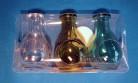 Elixierflaschen-Set grün 45 ml mit Korken
