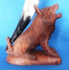 Drinking horn holder Fenris Wolf