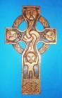 St. Patrick Kreuz, geschnitzt