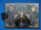 Witchboard Tree of Life (Yggdrasil) (Ouija Board) black