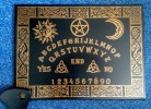 Witchboard Celtic Black (Ouija Board)