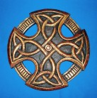 Celtic Cross, carved, small