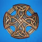Croce celtica, piccola, intagliata
