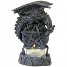 Chandelier Dragon avec pentagramme