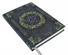 Notebook with pentagram and Ivy