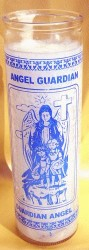 7 Day Glass Candle - Guardian Angel 1 piece