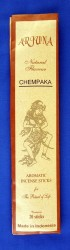 Arjuna arôme naturel bâtons d'encens Chempaka