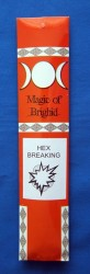 Magic of Brighid Bastoncini di incenso Hex Breaking