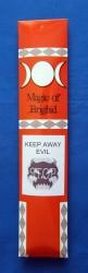 Magic of Brighid Incense sticks Keep away Evil