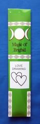 Magic of Brighid Bâtons d'encens Love Drawing