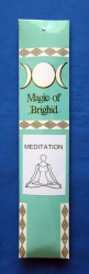 Magic of Brighid Bastoncini di incenso Meditation