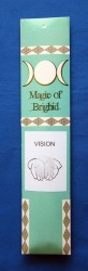 Magic of Brighid Incense sticks Vision