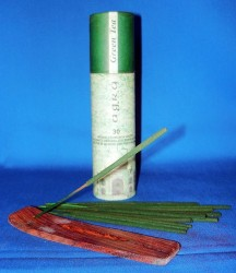 Agra Magic incense sticks, green tea