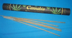 Cannabis incense sticks PU = 12 pieces