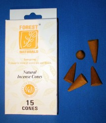Forest Naturals Incense cones, Energizing
