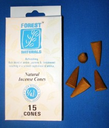 Forest Naturals Incense cones, refreshing
