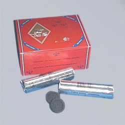 Carboncini in pastiglie, 33 mm diametro