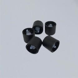 Vial Caps - Black for fluid oils