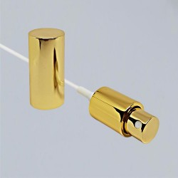 Spray Pump Nozzle with Cap for 100 ml gold