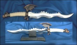 Letter Opener Small Flame Sword