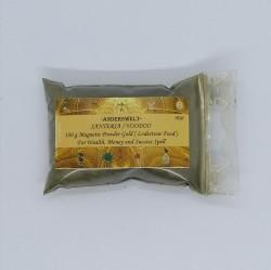Magnetic Powder Gold Santeria  Voodoo Beutel mit 250 g.
