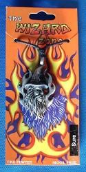 Pendant Merlin with black stone