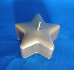 Star Candle gold