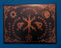 Witchboard Tree of Life (Yggdrasil) (Ouija Board)black, in frenc
