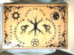Witchboard Tree of Life (Yggdrasil) english, brown Second Quality