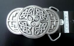 Fibbia per cintura Celtic triplo