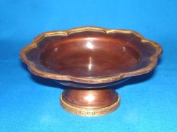 Incense Burner Copper Bowl Lotus