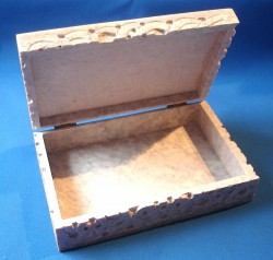 Boîte de la stéatite avec Pentagram