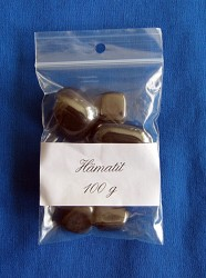 Hematite Tumbled Stones sorted 100 g