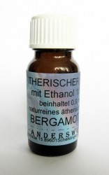 Ethereal fragrance (Ätherischer Duft) ethanol with bergamot