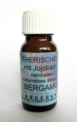Ethereal fragrance (Ätherischer Duft) jojoba oil with bergamot