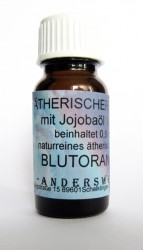 Ethereal fragrance (Ätherischer Duft) jojoba oil with blood orange