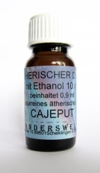 Ethereal fragrance (Ätherischer Duft) ethanol with cajeput