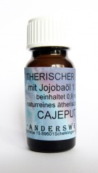 Ethereal fragrance (Ätherischer Duft) jojoba oil with cajeput