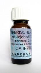 Fragranza etereo (Ätherischer Duft) olio di jojoba con cajeput