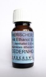 Ethereal fragrance (Ätherischer Duft) ethanol with cedarwood