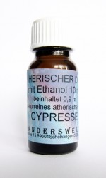 Ethereal fragrance (Ätherischer Duft) ethanol with cypress